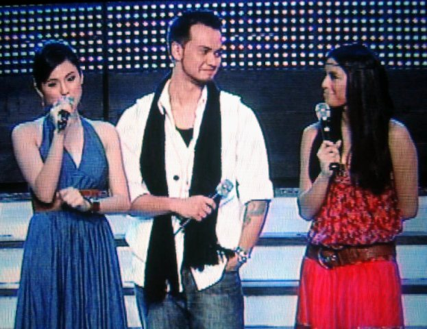 Toni Gonzaga, Billy Crawford and Nikki Gil